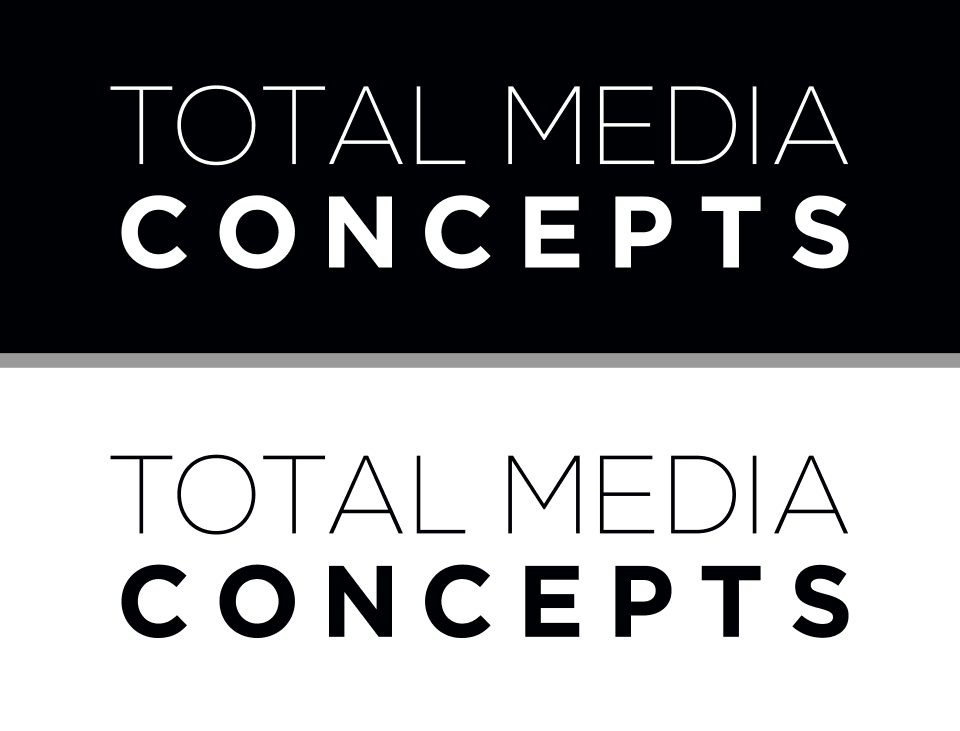 Total Media Concepts Style Guide Approved Logos